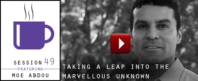 Taking a Leap Into The Marvellous Unknown: Moe Abdou