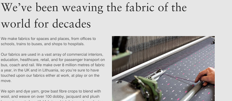 Best-Brand-Stories-of-2016-Camira-Fabrics