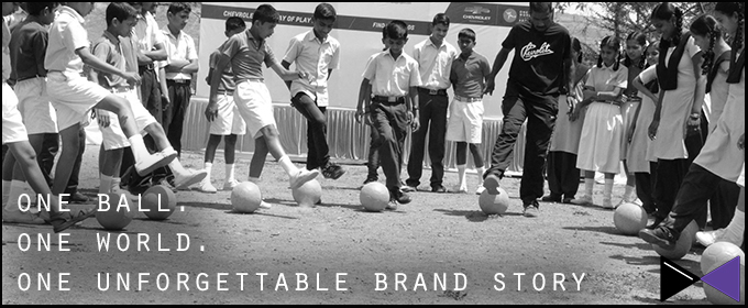 One Ball. One World. One Unforgettable Brand Story