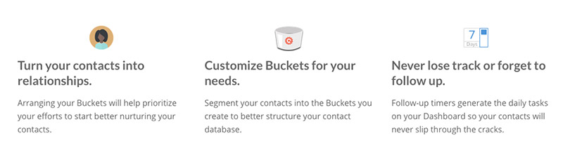 Introducing The Contactually Buckets
