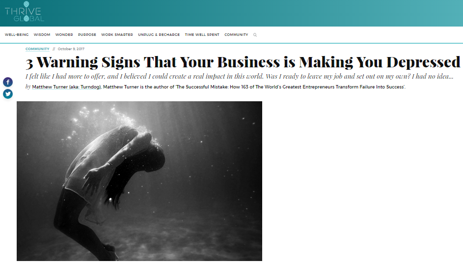 Guest Post] 3 Warning Signs That Your Business is Making You