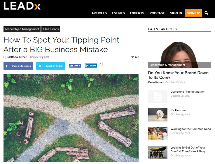 guest post   spot  tipping point   big business mistake