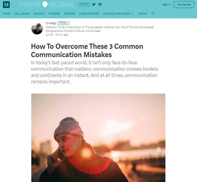 Guest Post] How To Overcome These 3 Common Communication Mistakes